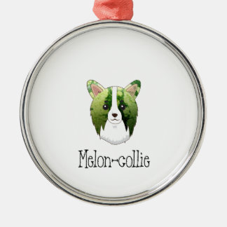 melon collie metal ornament