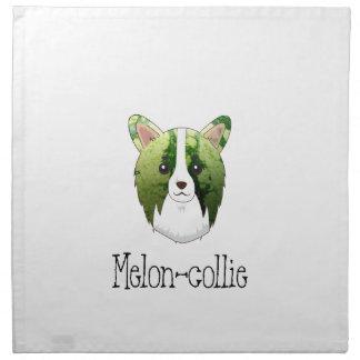 melon collie napkin