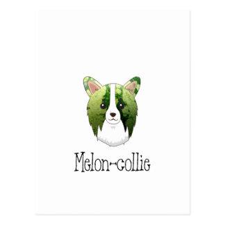 melon collie postcard