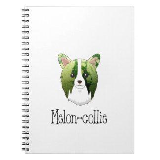 melon collie spiral notebook
