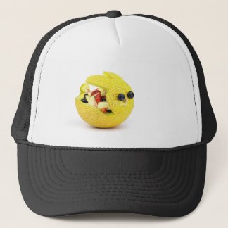 Melon Easter bunny filled with summer fruit Trucker Hat