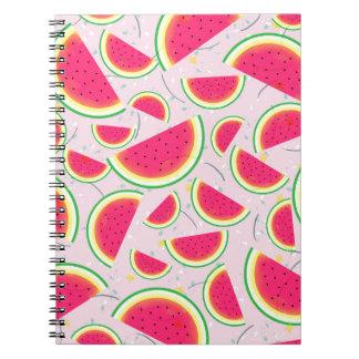 Melon Fiesta Pattern Notebook