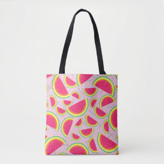 Melon Fiesta Pattern Tote Bag