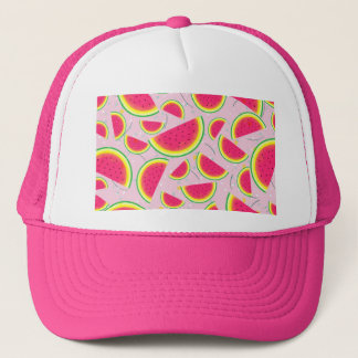 Melon Fiesta Pattern Trucker Hat