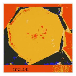 Melon Fine Art Print Poster