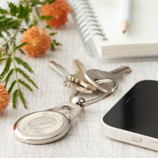 Melon Key Ring