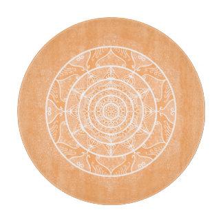 Melon Mandala Cutting Board