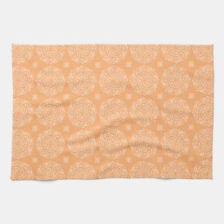 Melon Mandala Tea Towel