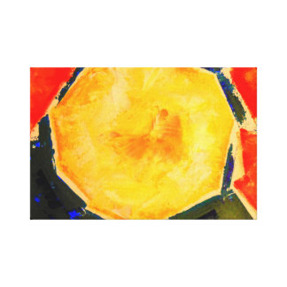 Melon Modern Still Life Fine Art Print