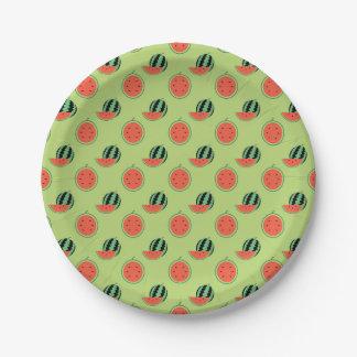 Melon Party Paper Plates