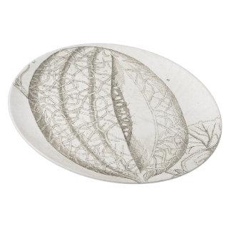 Melon Plate