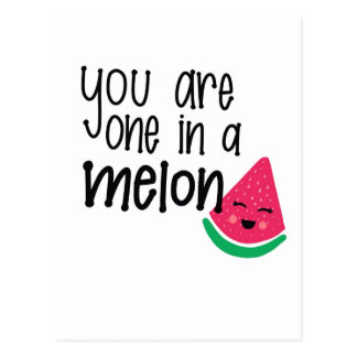 Melon Postcard