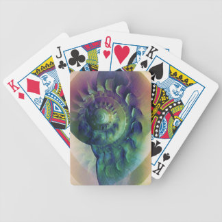 Melon Shell Abstract Bicycle Playing Cards