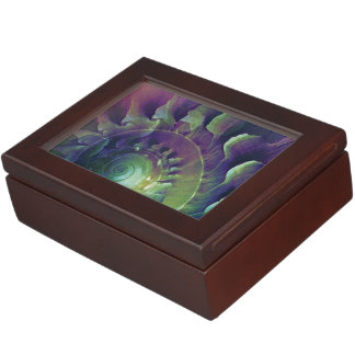 Melon Shell Abstract Keepsake Box