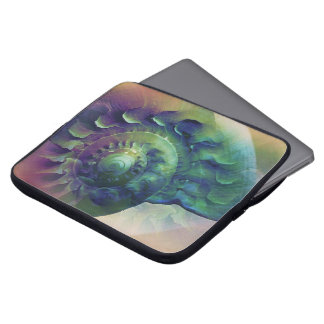 Melon Shell Abstract Laptop Sleeve