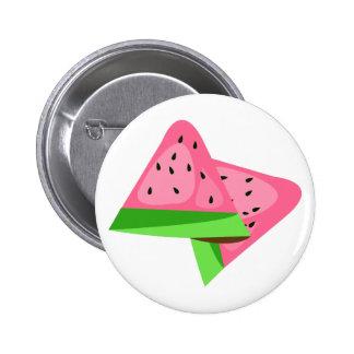 Melon Slices Pinback Buttons
