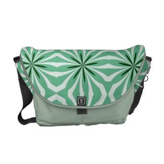 Melon Striped Rickshaw Messenger Bag