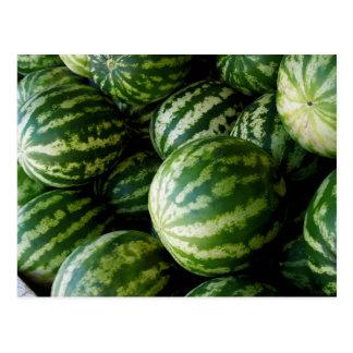 Melons Postcard