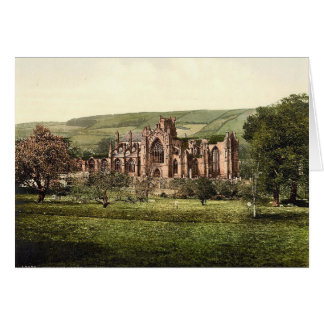 Melrose Abbey, Scotland Note Card