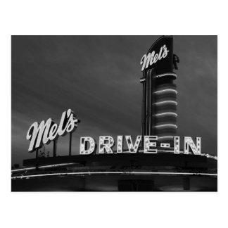 Mel's Drive-In Postcard