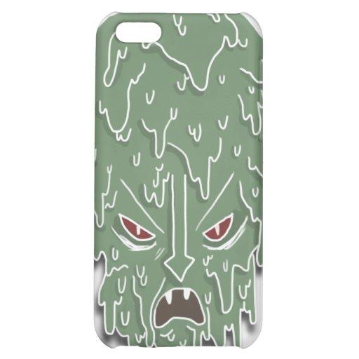 Melt Evil Head (white) Case For iPhone 5C
