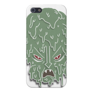 Melt Evil Head (white) Covers For iPhone 5