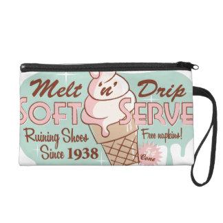 Melt 'n' Drip Soft Serve Retro Ice Cream Bag Wristlet