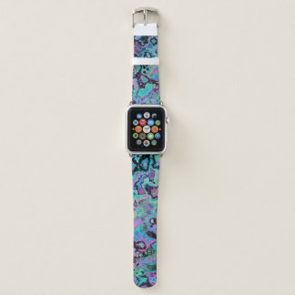 Melted Candy Apple Watch Band
