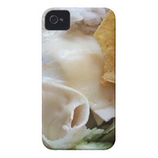Melted Cheese Nacho Funny Food iPhone 4 Case-Mate Cases