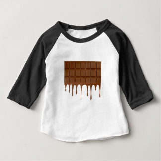 Melted chocolate bar baby T-Shirt