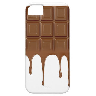 Melted chocolate bar iPhone 5 cover