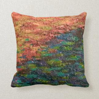 Melted Crayons Cushion