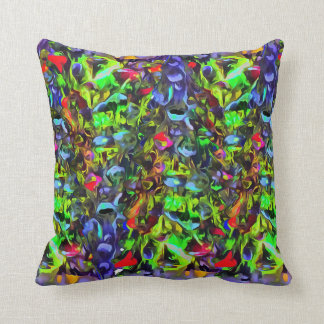 Melted Glass Cushion