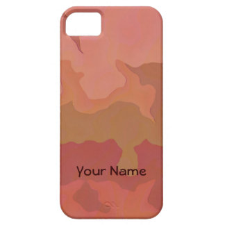 Melted Lipstick - Rosy Beige Abstract Case For The iPhone 5