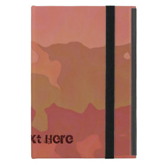 Melted Lipstick - Rosy Beige Abstract iPad Mini Case