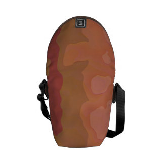 Melted Lipstick - Rosy Beige Abstract Courier Bags