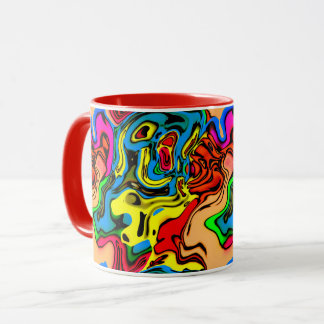 Melting Colors Coffee Mug