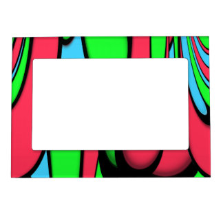 Melting Colors Magnetic Picture Frame