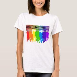 Melting Crayon Art Wear T-Shirt