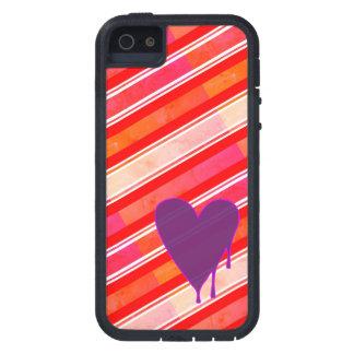 Melting Heart Purple iPhone 5 Case