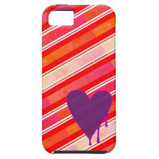 Melting Heart Purple iPhone 5 Cover