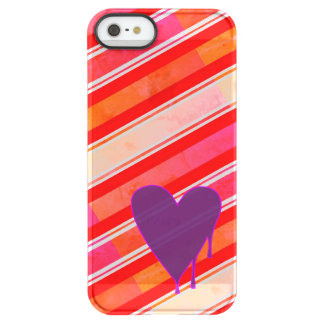 Melting Heart Purple Permafrost® iPhone SE/5/5s Case