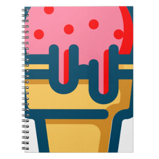 Melting Ice Cream Notebook