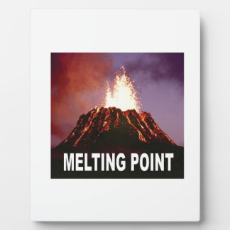 Melting point art plaque
