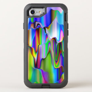 Melting Raibow Ice Cream OtterBox Defender iPhone 7 Case