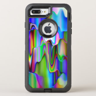 Melting Raibow Ice Cream OtterBox Defender iPhone 7 Plus Case