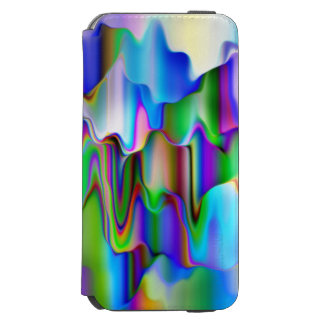 Melting Rainbow Ice Cream Incipio Watson™ iPhone 6 Wallet Case