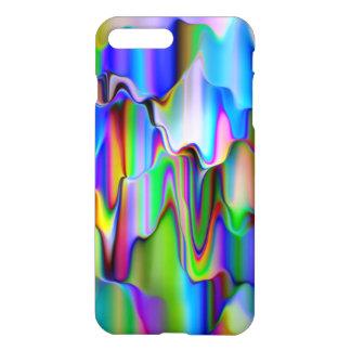 Melting Rainbow Ice-Cream iPhone 8 Plus/7 Plus Case