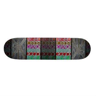 Melting Steel Skateboard
