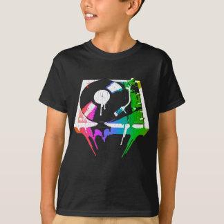 Melting Turntable (vintage distressed look) T-Shirt